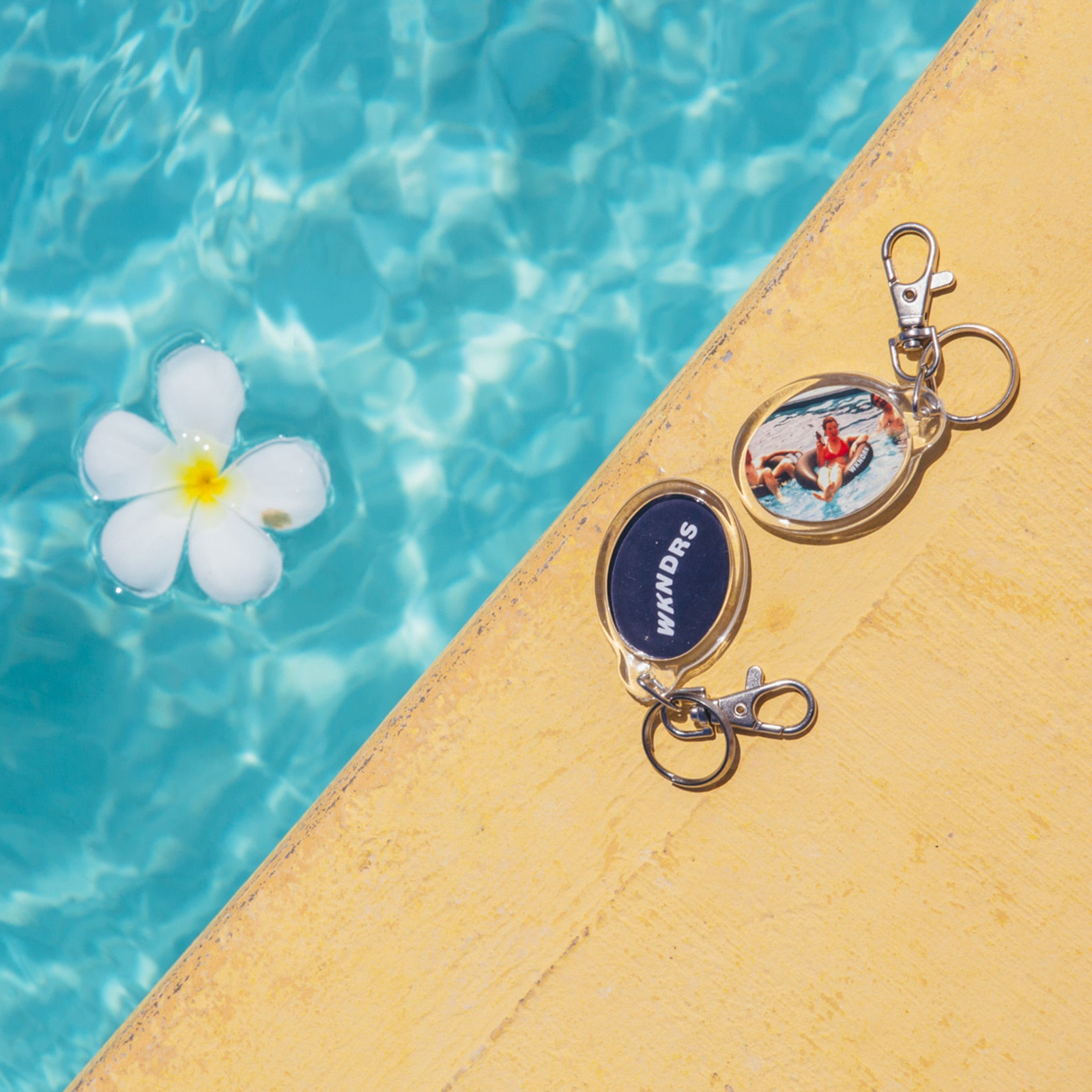 TUBE KEYRING (NAVY)