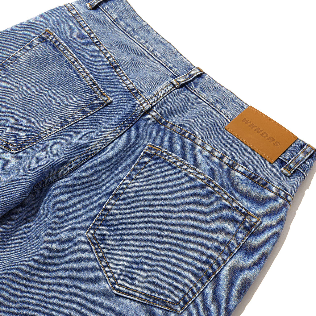 BASIC DENIM PANTS (DENIM)