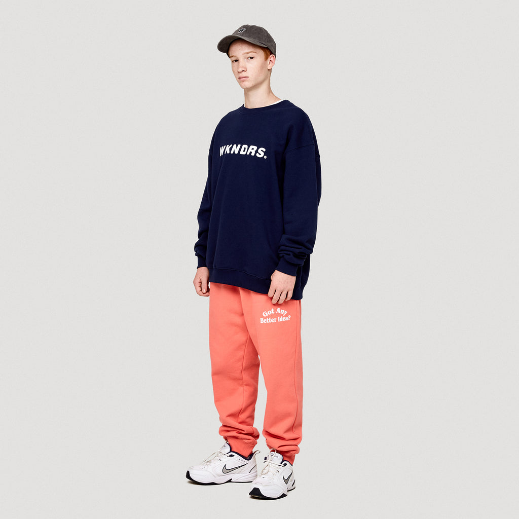 IDEA SWEAT PANTS (CORAL)