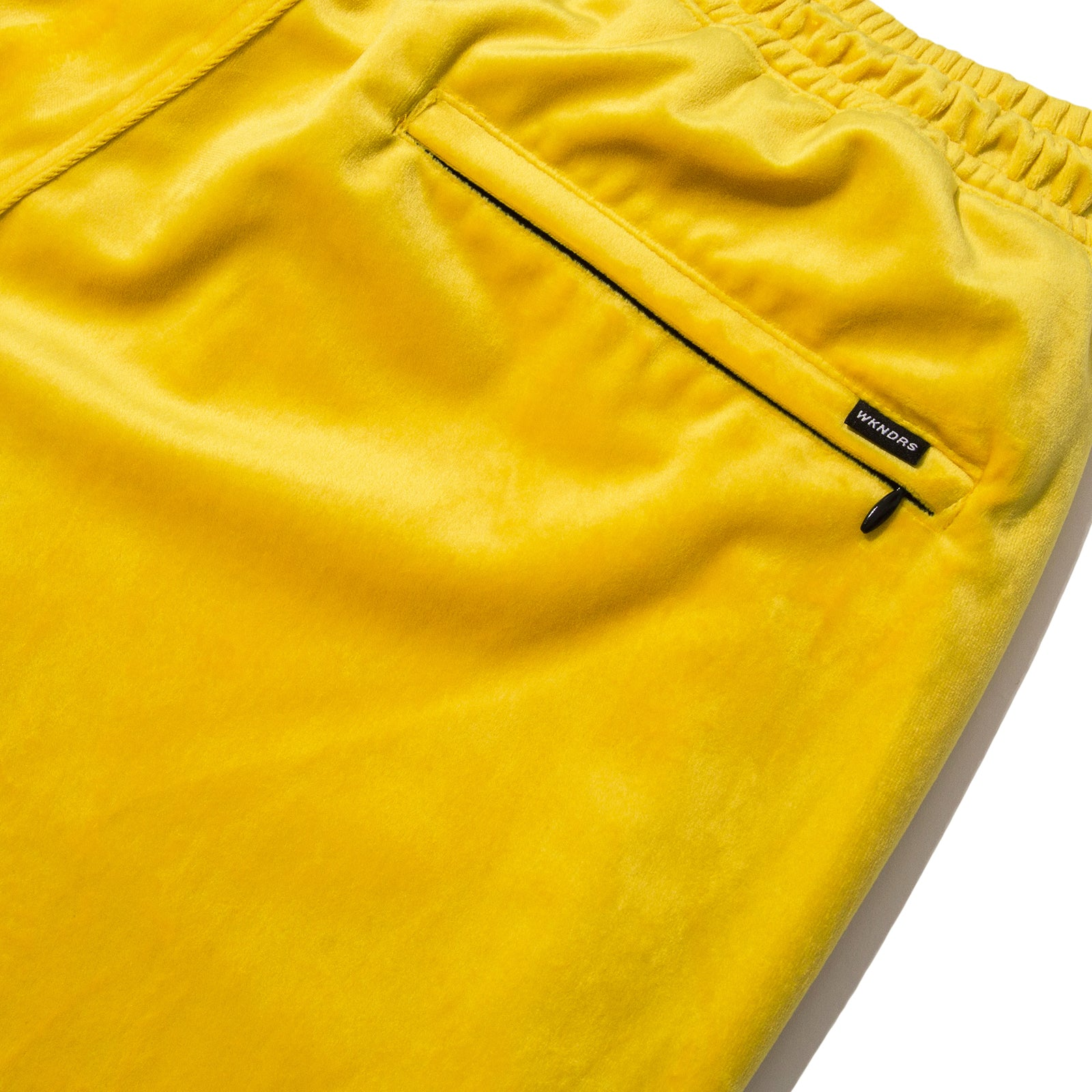 VELVET PANTS (YELLOW)