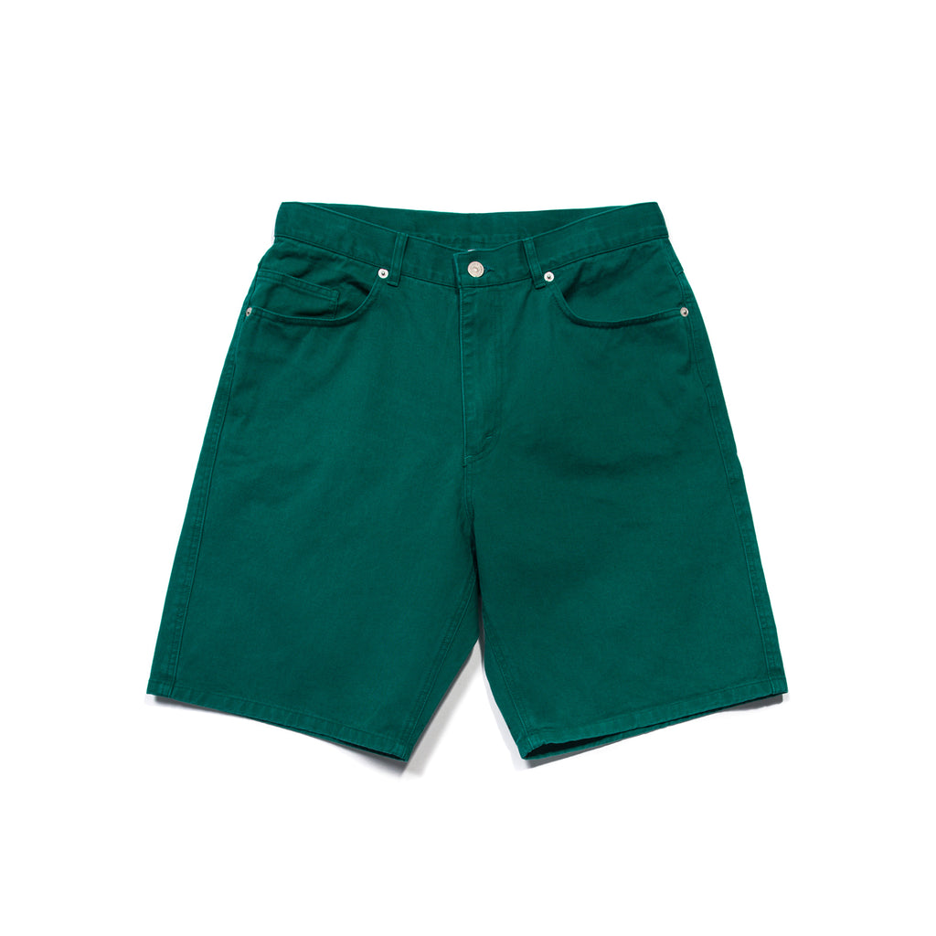 OVERSIZED CHINO SHORTS (GREEN)