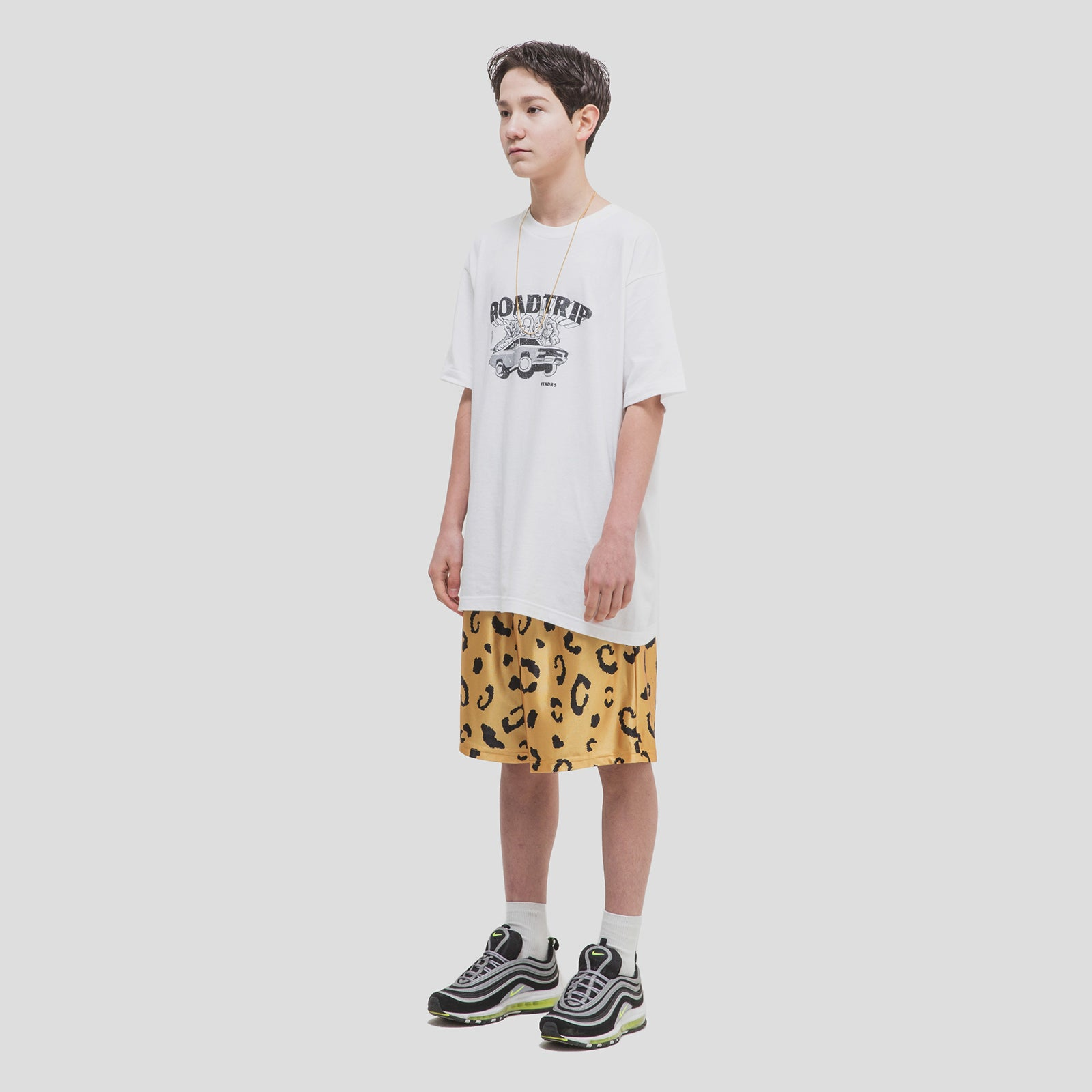 LEOPARD SHORTS (YELLOW)