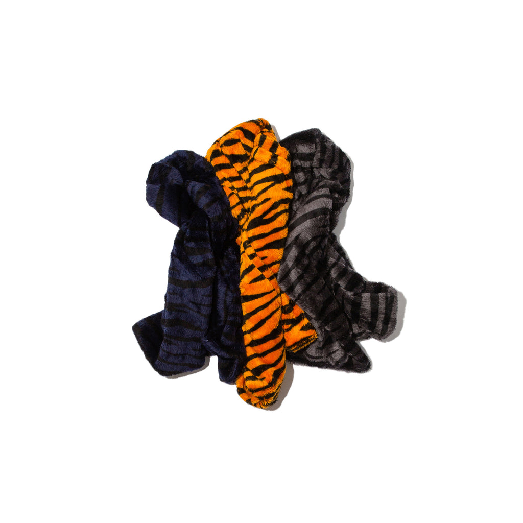TIGER FUR PATTERN SCARF (ORANGE)