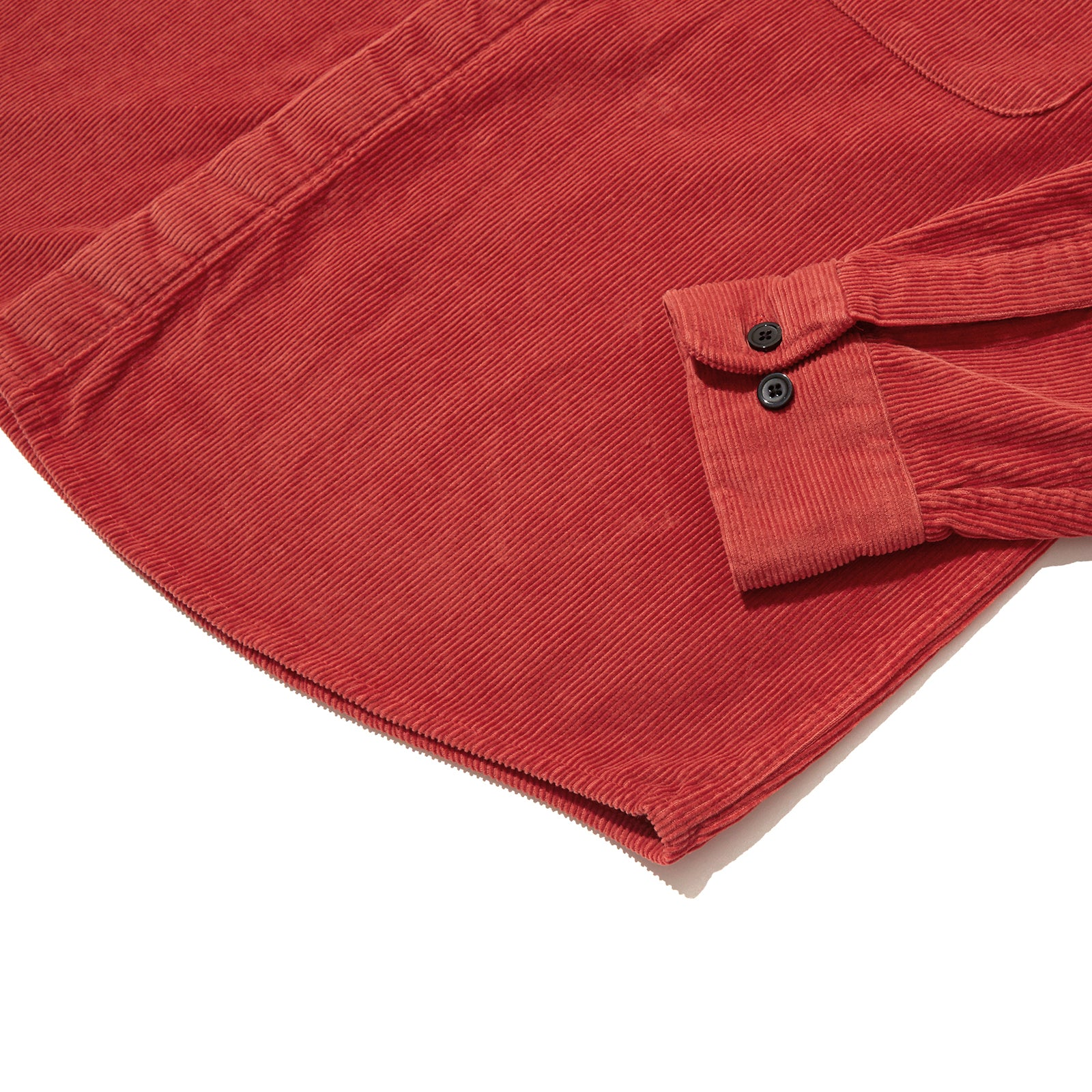 OVERSIZED CORDUROY SHIRT JK (RED)