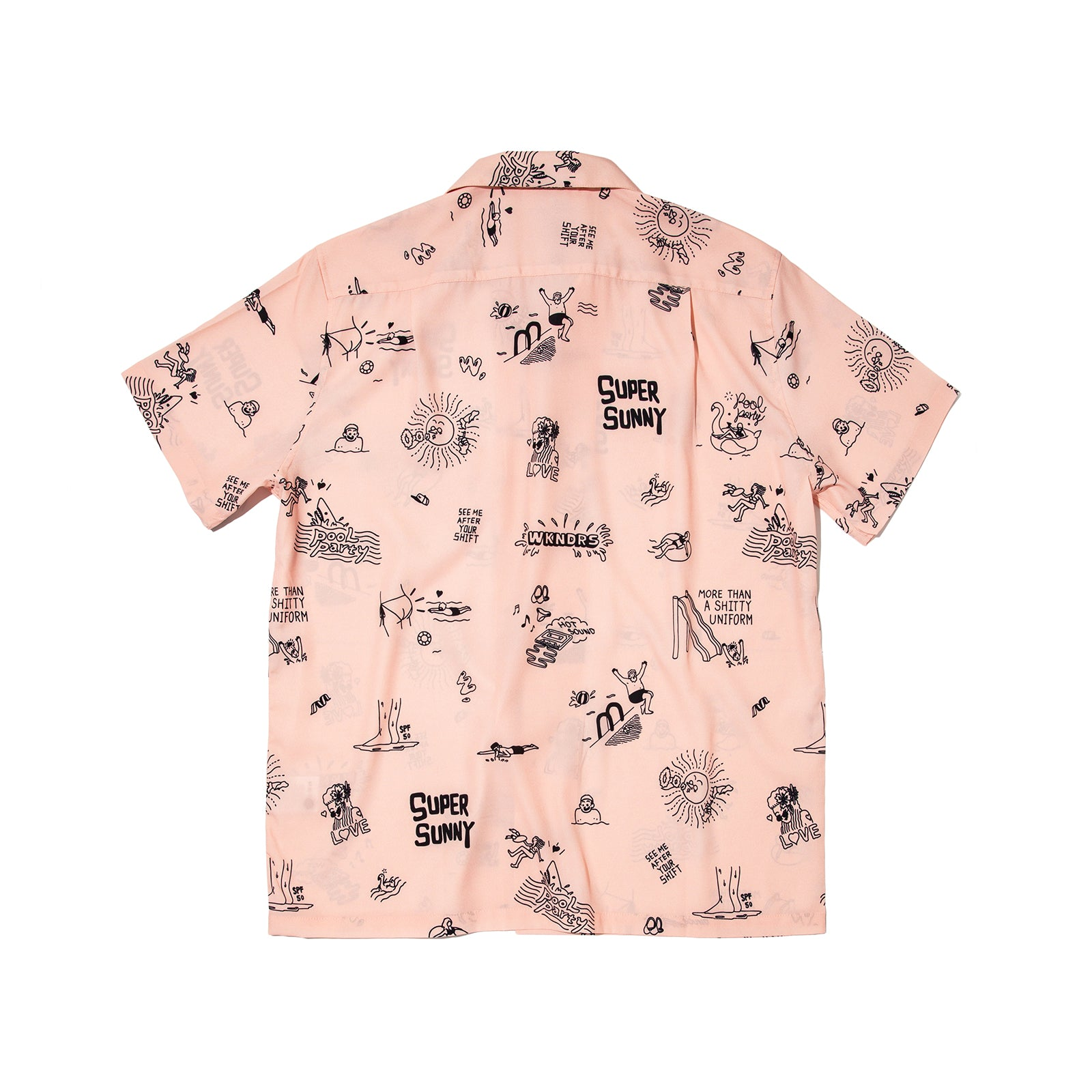POOL PARTY SHIRTS (L.PINK)