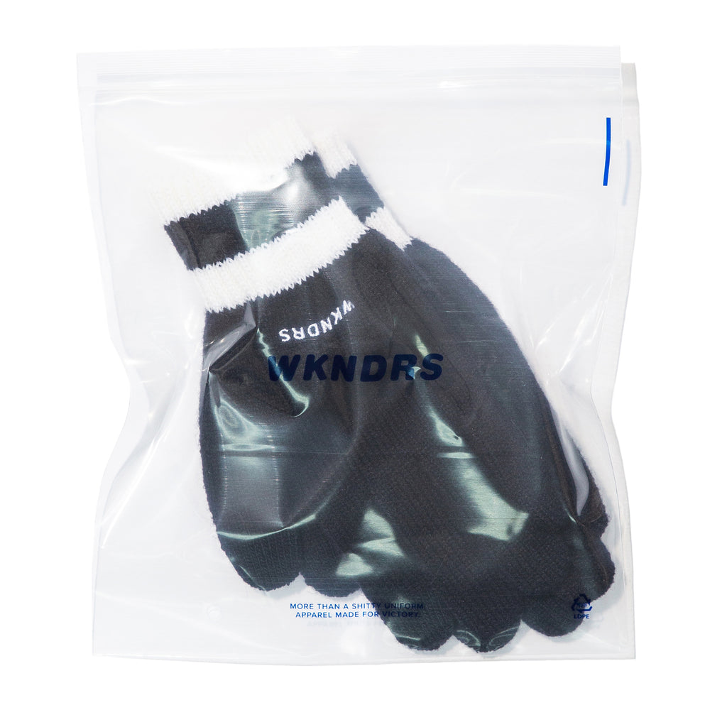WAVY LOGO GLOVE (BLACK)