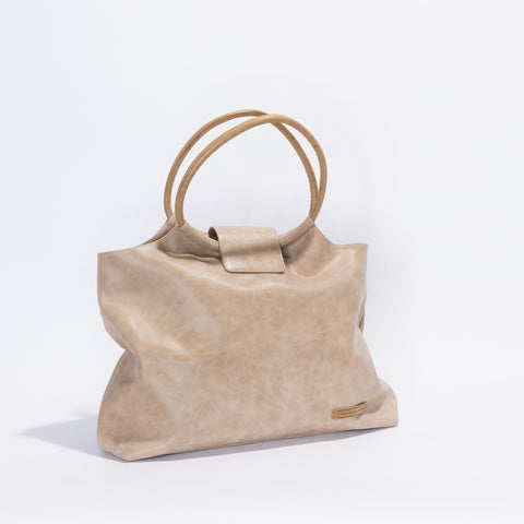Vienna Bag - Almond/Toffee