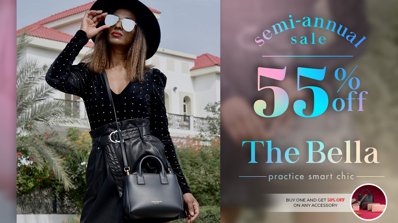 The Bella Bag, Made in Italy, Premium Leather, Fair Prices - Teddy Blake