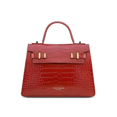 "Ava Croco Gold 11"" - Red"