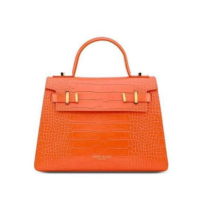 "Ava Croco Gold 11"" - Orange"