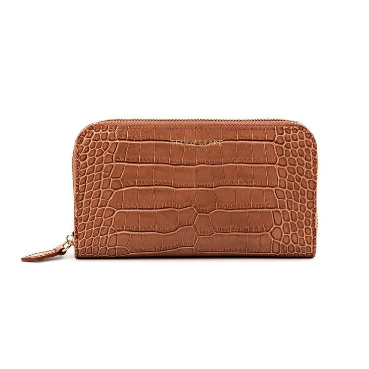 TB Zipwallet Croco - Camel Brown