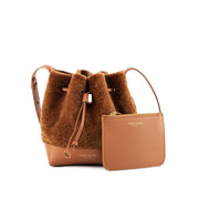 "Eliza Duo Shearling 9"" - Camel Brown"