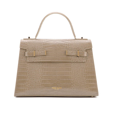 "Ava Croco Gold 14"" - Light Beige"