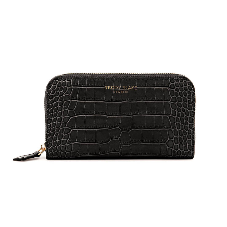 TB Zipwallet Croco - Black&Red