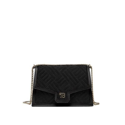 "Sophia Duo Leather 9"" - Black"