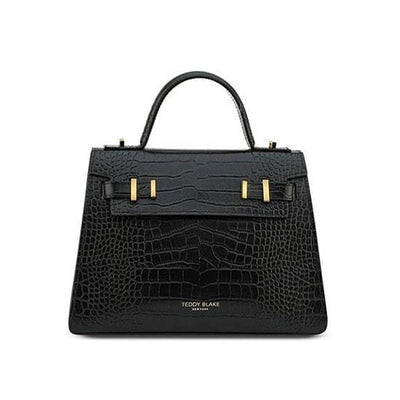 "Ava Croco Gold 11"" - Black"