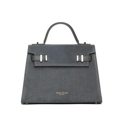 "Ava Duo Leather Gold 11"" - Dark Grey"