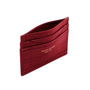 TB Cardholder Croco - Dark Red