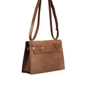 "Ella Croco 11"" - Camel Brown"