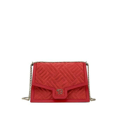 "Sophia Duo Leather 9"" - Red"