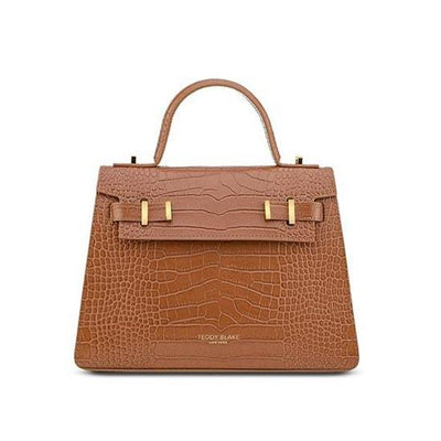 "Ava Croco Gold 11"" - Camel Brown"