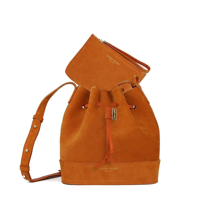 "Eliza Suede 9"" - Orange"