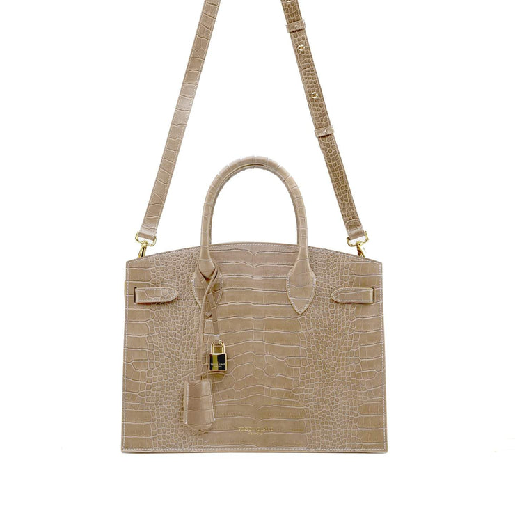 "Kate Croco 12"" - Light Beige"