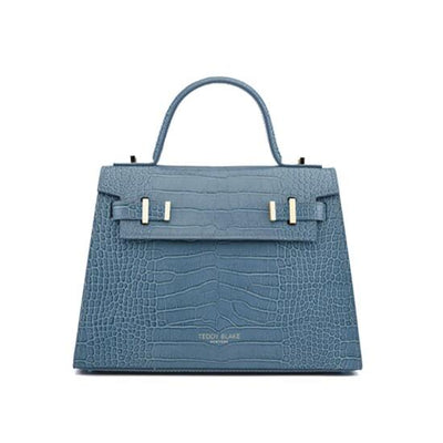 "Ava Croco Gold 11"" - Blue"
