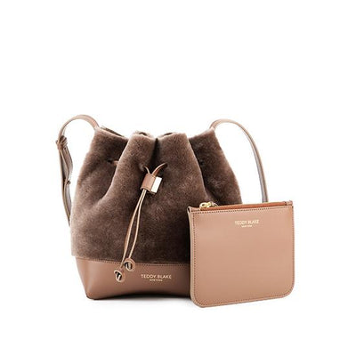 "Eliza Duo Shearling 9"" - Light Brown"