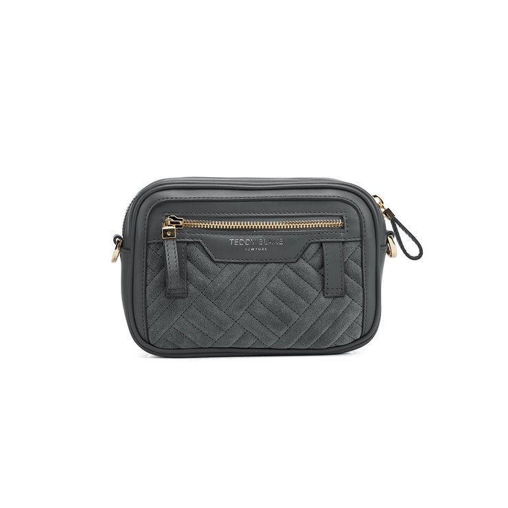 "Zoe Duo Leather 7"" - Grey"