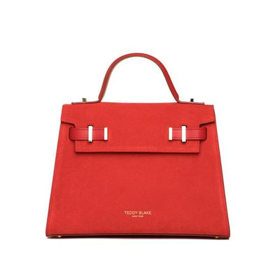 "Ava Duo Leather Gold 11"" - Red"
