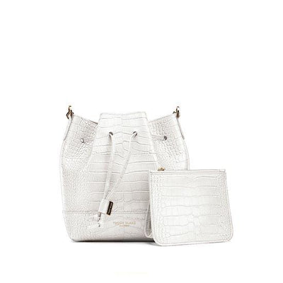 "Eliza Croco 9"" - White"