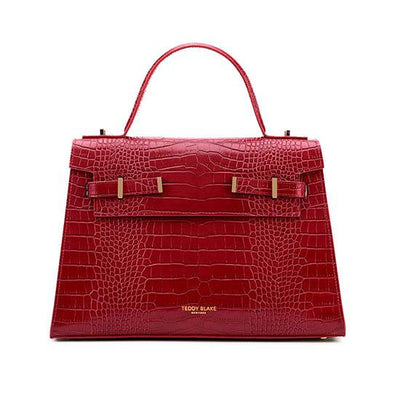 "Ava Croco Gold 14"" - Red"