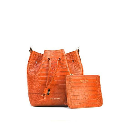 "Eliza Croco 9"" - Orange"