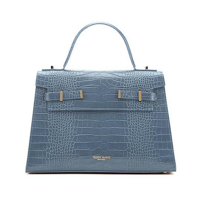 "Ava Croco Gold 14"" - Blue"