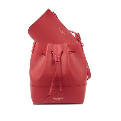 "Eliza Vitello 12"" - Coral Red/Black"
