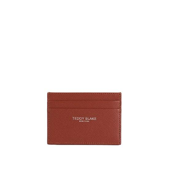 TB Cardholder - Gold Brown