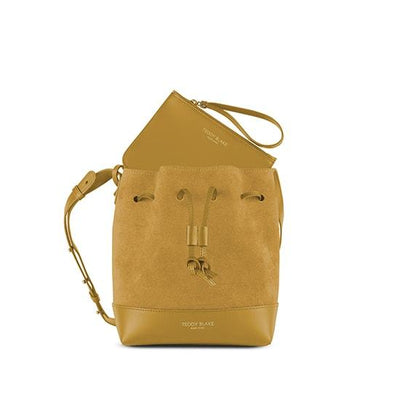 "Eliza Duo Leather 9"" - Goldenrod"