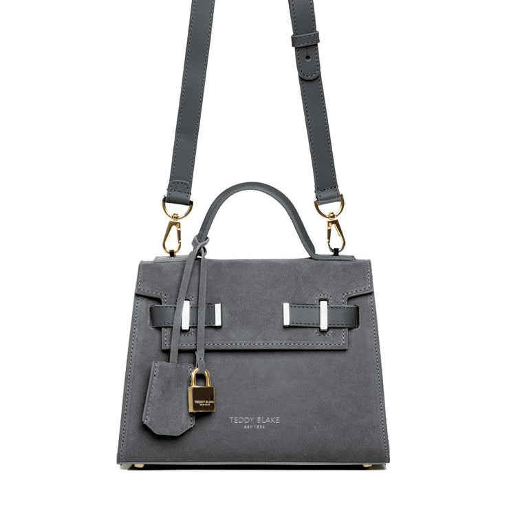 "Ava Duo Leather Gold 9"" - Dark Grey"