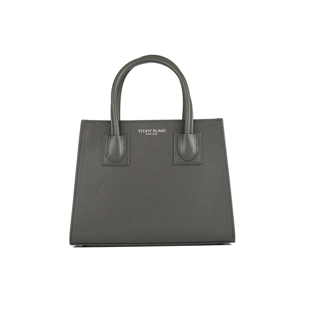 Kara Saffiano 9 - Dark Grey