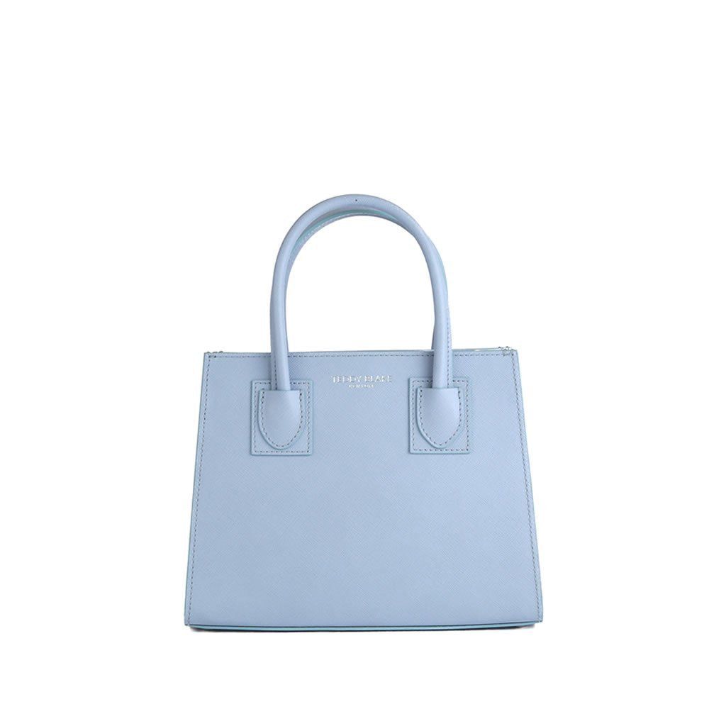 "Kara Saffiano 9"" - Light Blue"