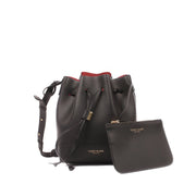 "Eliza Vitello 9"" - Black/Red"