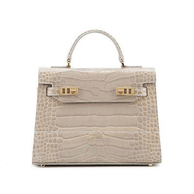 "Kim Croco 11"" - Light Grey"