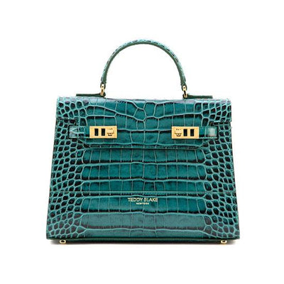 "Kim Croco 11"" - Dark Green"