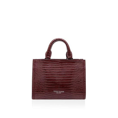 Adelia Lizzard Small - Bordeaux