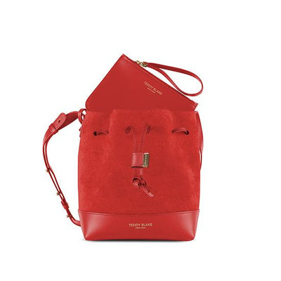 "Eliza Duo Leather 9"" - Red"