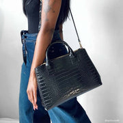 "Bella Croco 12"" - Black"