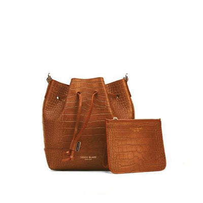 "Eliza Croco 9"" - Camel Brown"