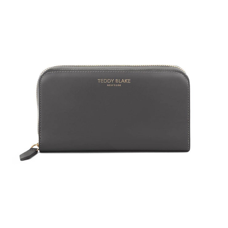 TB Zipwallet Vitello - Dark Grey