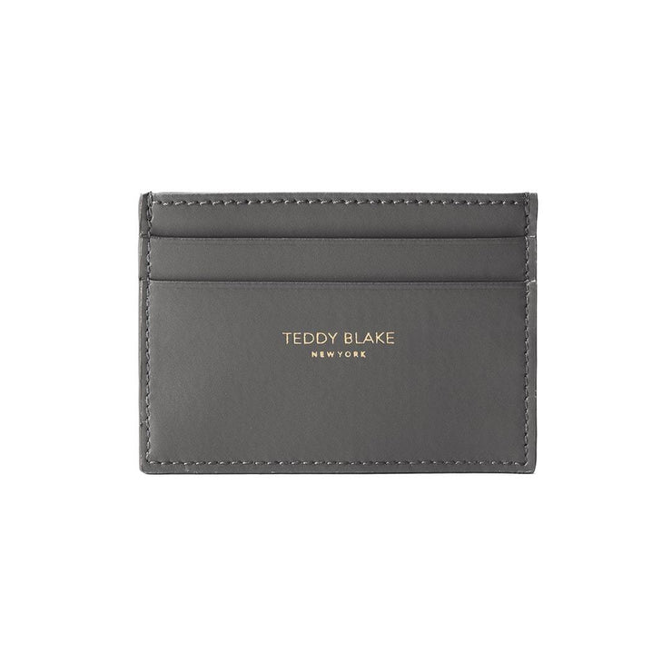 TB Cardholder Vitello - Dark Grey